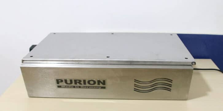 Purificador de aire ultravioleta