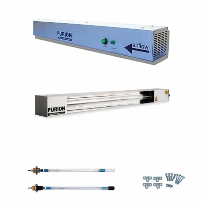 Lámparas UV-C ultravioleta, purificador ultravioleta y lámparas UVC mercurio