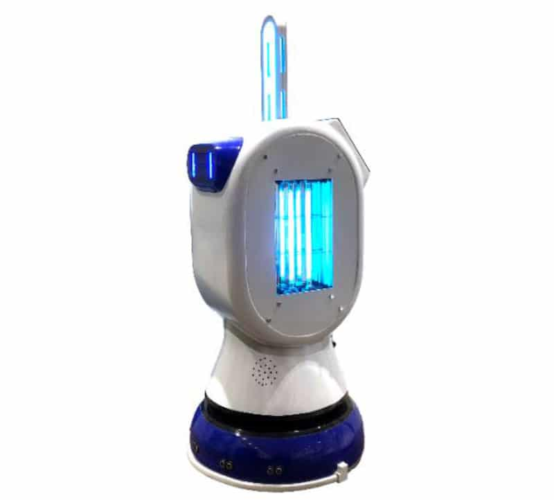 Robot ultravioleta UVC